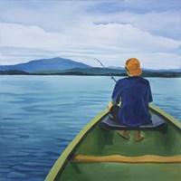 Griffin Fishing Fine Art Print