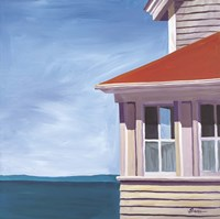 Lightkeepers House Fine Art Print