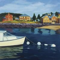 Monhegan Harbor Fine Art Print
