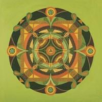 Autumn Mandala Fine Art Print