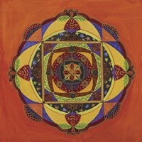 Compassion Mandala Fine Art Print