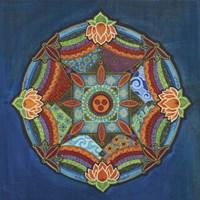 Peace Mandala Fine Art Print