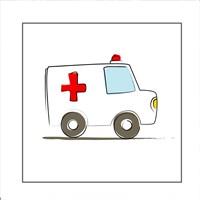Ambulance Fine Art Print