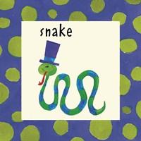 Snake with Border Fine Art Print