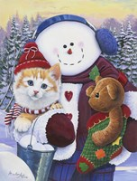 Winter Wonder Pals Fine Art Print