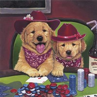 Poker Dogs Fine Art Print