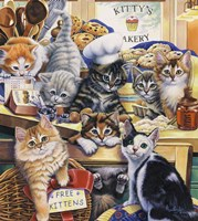 Kitty Bakery Fine Art Print