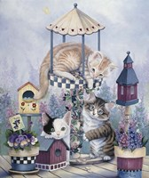 Cat Carousel Fine Art Print