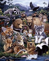 Forest Friends Fine Art Print