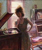 Phonograph Days Fine Art Print