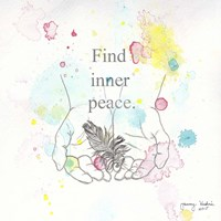 Find Inner Peace Framed Print