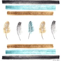Feathers Aligned Fine Art Print