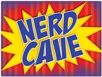 Nerd Cave Comic Fine Art Print