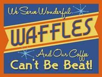 Waffles Can't Be Beat Fine Art Print