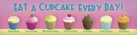 Cupcake Every Day Fine Art Print