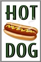 Hot Dog Vertical Fine Art Print