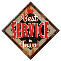 Best Service Diamond Fine Art Print