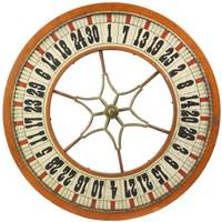 Gambling Wheel - Wood Fine Art Print