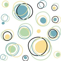 Retro Circle 1 Fine Art Print