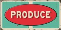 Produce Embossed Fine Art Print