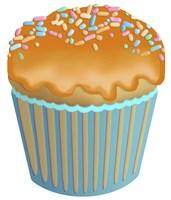 Pumpkin Cupcake Fine Art Print