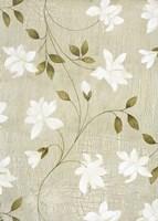 White Flowers 2 Framed Print