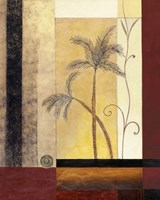 Exotic Palm II Framed Print