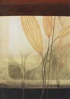 Leaf Collage I Framed Print