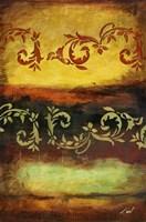 Turbulance II Framed Print