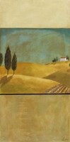 Golden Fields II Framed Print