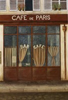Cafe de Paris Framed Print