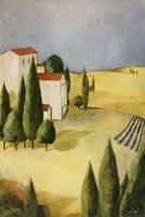 Tuscan Villa II Framed Print