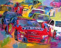 Jeff Gordon Fine Art Print