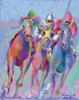 Horse Race 2 Fine Art Print
