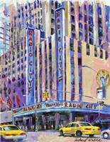 Radio City Music Hall Fine Art Print