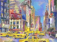 New York Taxi Fine Art Print