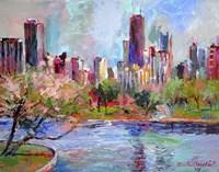 Cityscape 2 Fine Art Print