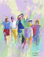 Women's Golf Fine Art Print