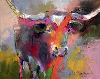 Texas Longhorn Fine Art Print