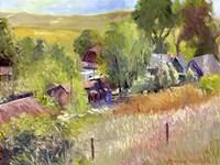 Rooney Ranch Framed Print