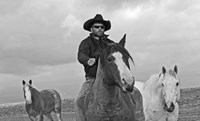 My Cowboy Rides Bareback Fine Art Print