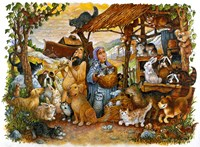 Noah & the Animals Fine Art Print