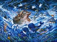 Noah's Voyage Fine Art Print