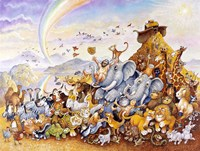 Noah's Happy Ending Fine Art Print