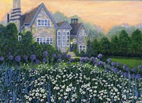 English Cottage lg Fine Art Print