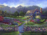 Garden Gate Fine Art Print