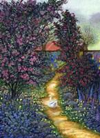 Duck Garden Fine Art Print