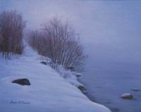 Winter Mist Fine Art Print