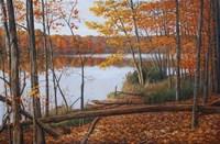 Crescent Lake Fine Art Print