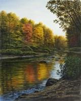 River Of Gold Fine Art Print